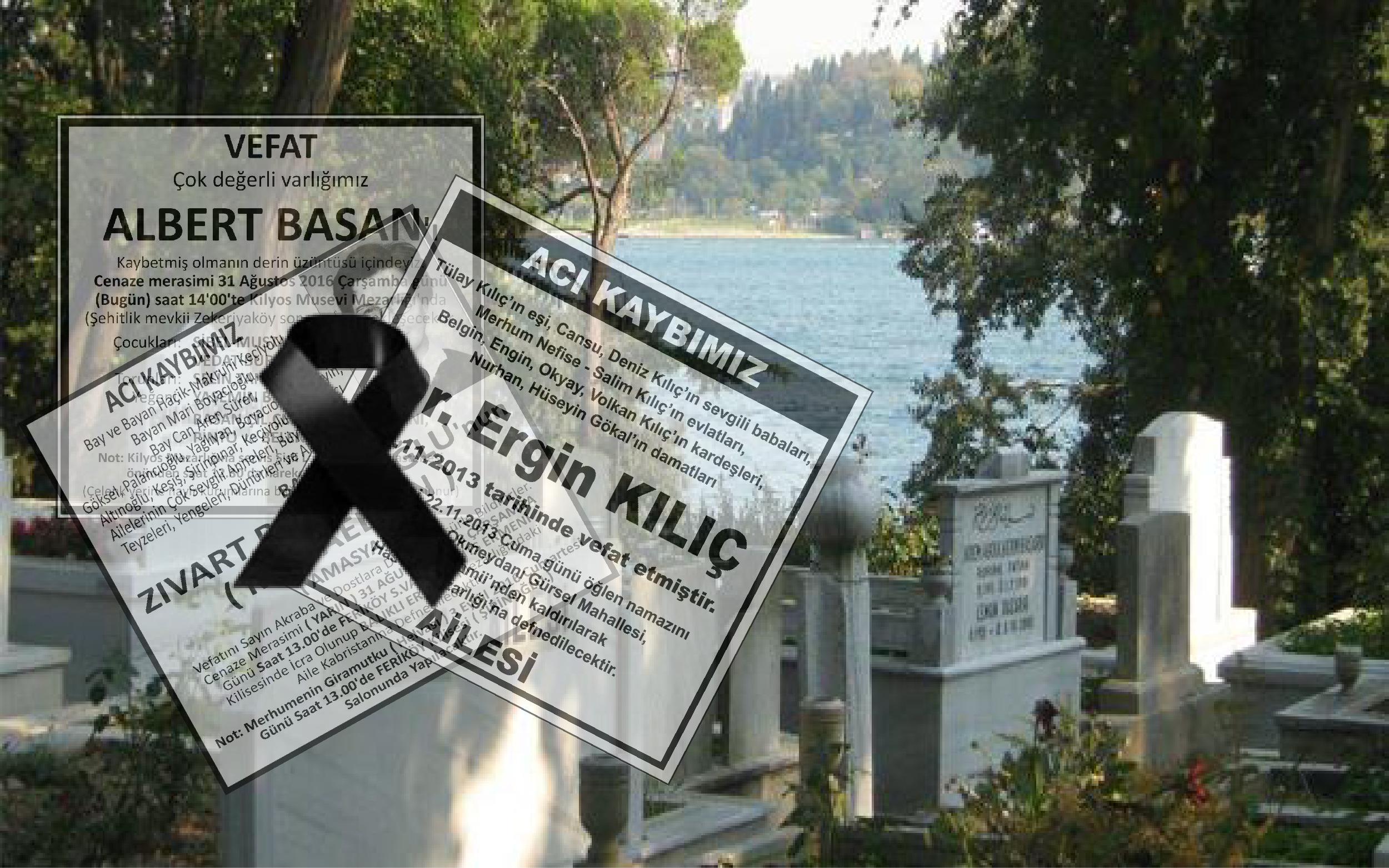 Hürriyet İstanbul'da Bugün Vefat Edenler 26 Mayıs 2020 Salı